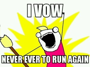 and Yet I RAN