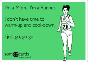 mom runner